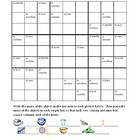 Poner la mesa (Set the table in Spanish) Sudoku