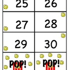 Pop! Number identification Rapid Pace Game
