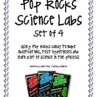 Pop Rocks Experiment/Observation Labs, Set of 4