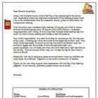 Pop a Top Reading Log Parent Letter Beginning of Year Common Core