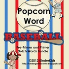 Popcorn Baseball Game Bundle