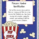 Popcorn Number Identification 1-100