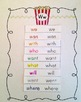 Popcorn Words Glossary with Printable Dolch Sight Words