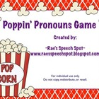 Poppin' Pronouns Game