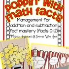 Poppin' With Math Facts (Basic Addition and Subtraction)