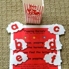 Popping Corn Flannel Board Set