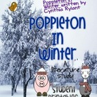 Poppleton in Winter Literature Study{Student printables an