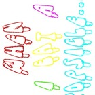Popsicle Writing