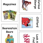 Popular Book Bin Labels