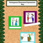 Portuguese Colored Classroom Expression Pics for Walls
