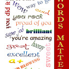 Positive Affirmation Poster 11x14 jpg file. (original work)