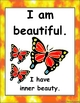 Positive Affirmations Cards and Posters motivational tool