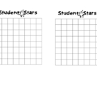 Positive Behavior Chart - Student Stars