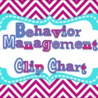 Positive Behavior Clip Chart {Bright Chevron colors!}