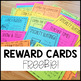 Positive Behavior Mini Reward Cards