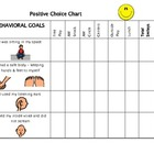 Positive Choice Chart For Use In A Classroom