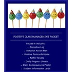 Positive Classroom Discipline Packet