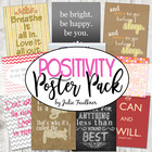 Positive Quotes Posters Bundle - Great Gifts or Writing Prompts