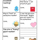 Positive Reading Notes FREEBIE