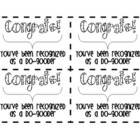 Positive Reinforcement (Do-Gooder Cards)