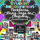 Positive Student Recognition Necklaces/Coupons (140 Choices)