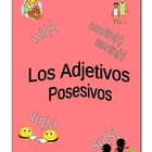 Possessive Adjectives Worksheets for Spanish