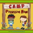 Possessive Nouns:  Camp Possessive Noun Game and Worksheet