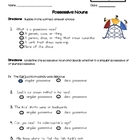 Possessive Nouns Quiz