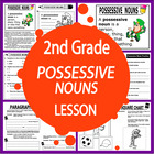 Possessive Nouns-Second Grade Common Core Lesson
