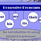 Possessive Pronouns Flipchart Package