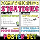 Poster Set: Sentence Starters for Comprehension Strategies