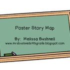 Poster Story Map:  Can be used for ANY book