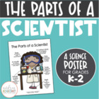Poster:  The Parts of a Scientist {Girl w/ Deeper Skin Tones}