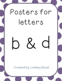 Poster for Letters B and D