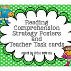 Posters of Reading Comprehension Strategies and Activities