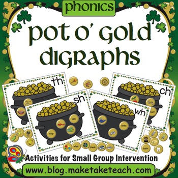Pot O Gold- Consonant Digraphs