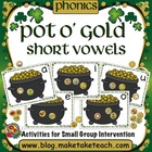 Pot O' Gold- Short Vowels