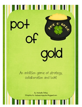 Pot of Gold: An Addition Game of Strategy, Collaboration a