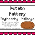 Potato Battery: Engineering Challenge Project ~ Great STEM