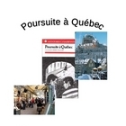 &quot;Poursuite a Quebec&quot; Vocab and Questions by Chapter + Quiz