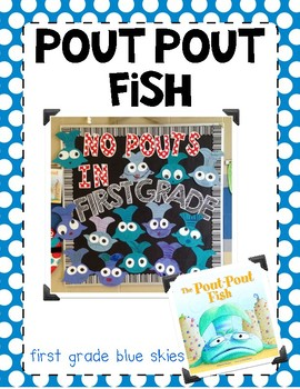 Pout Pout Fish~ Craft Template