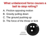 Power Point Friction Review game