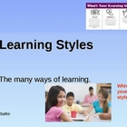Power Point On Basic Learning Styles