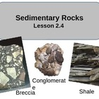 Power Point Sedimentary Rocks  Lesson Notes