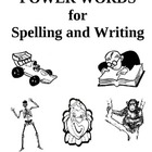 Power Words for Spelling and Writing, Activities and Worksheets