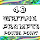 Power point: 35 writing prompts and exercises