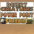 Power point: Desert Creature Adaptation