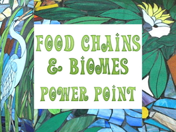 Power point: Food chains and biomes