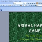 PowerPoint Animal Habitat Project, Video Tutorial 6