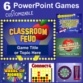 PowerPoint Games Pack - 6 Customizable Templates